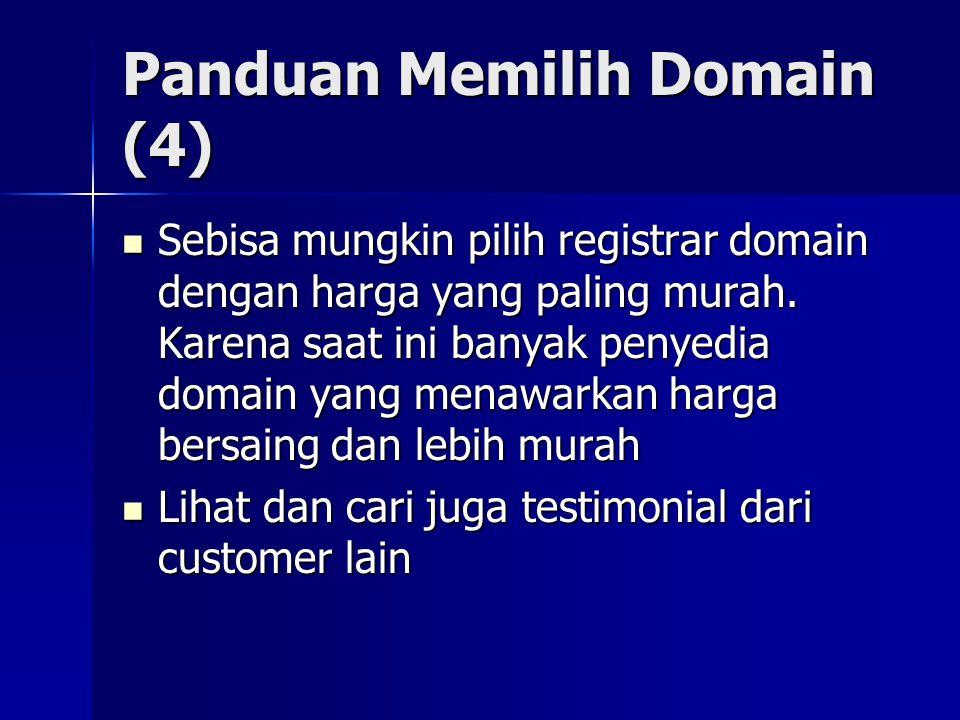 Panduan Memilih Domain (4)