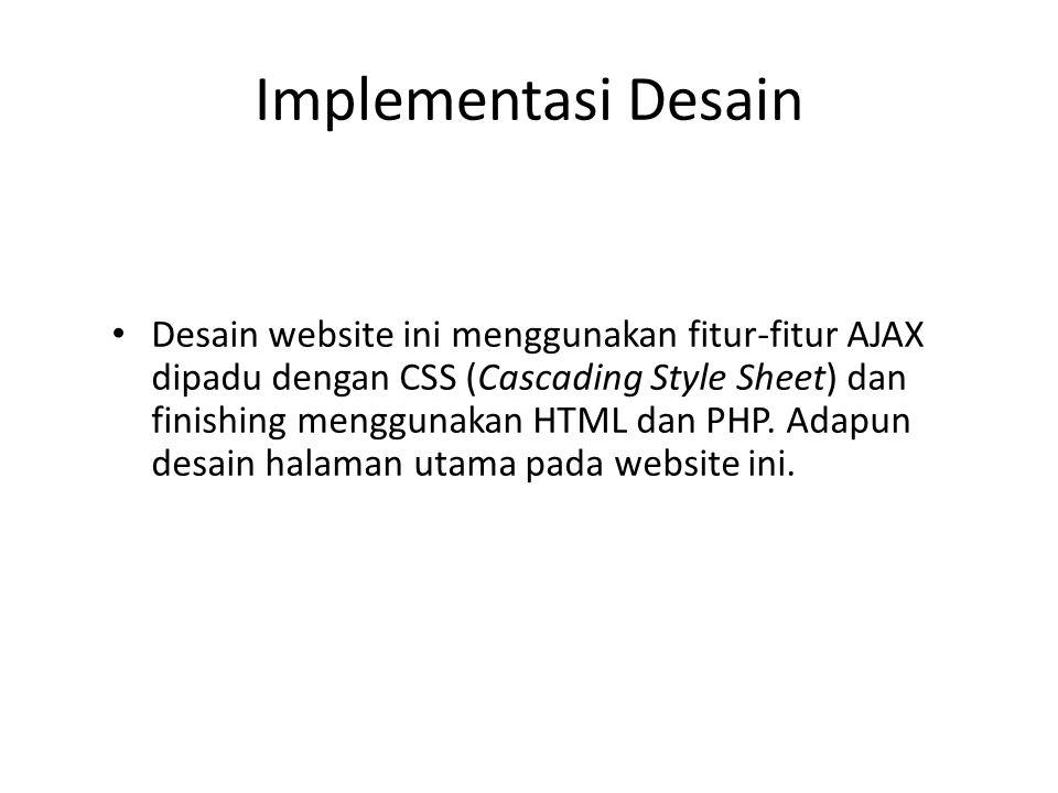 Implementasi Desain