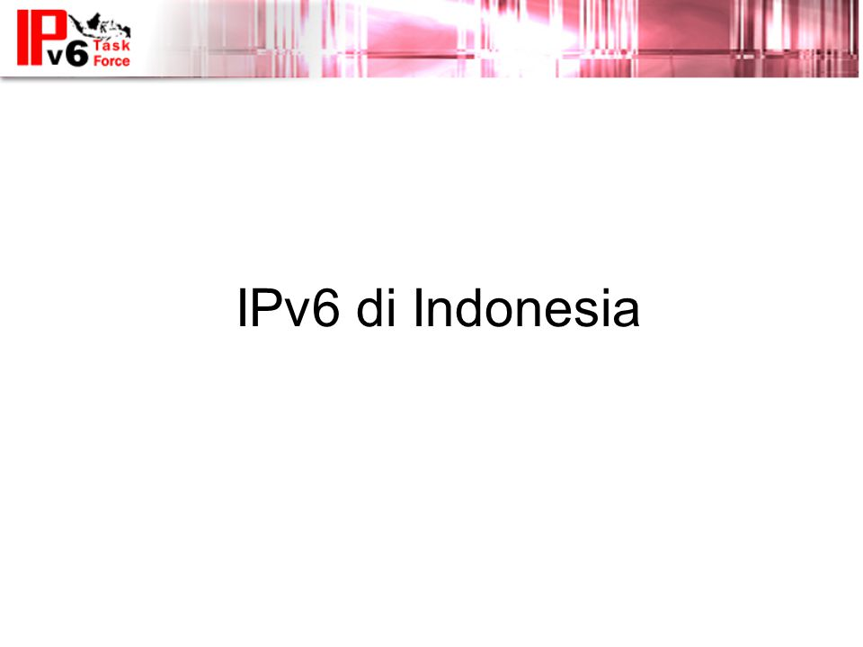 IPv6 di Indonesia