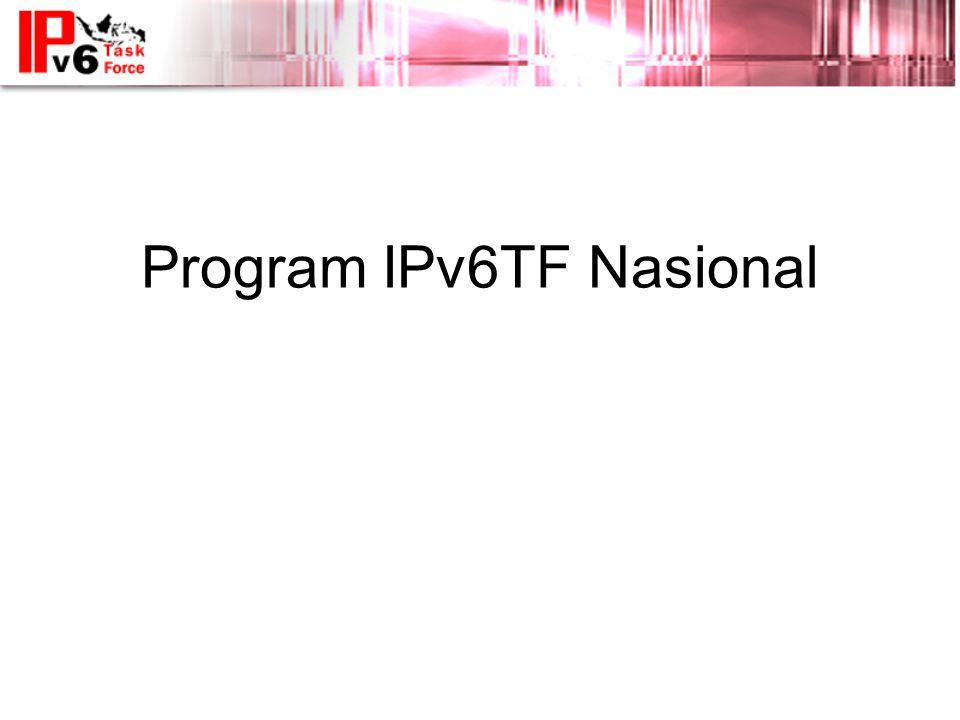 Program IPv6TF Nasional