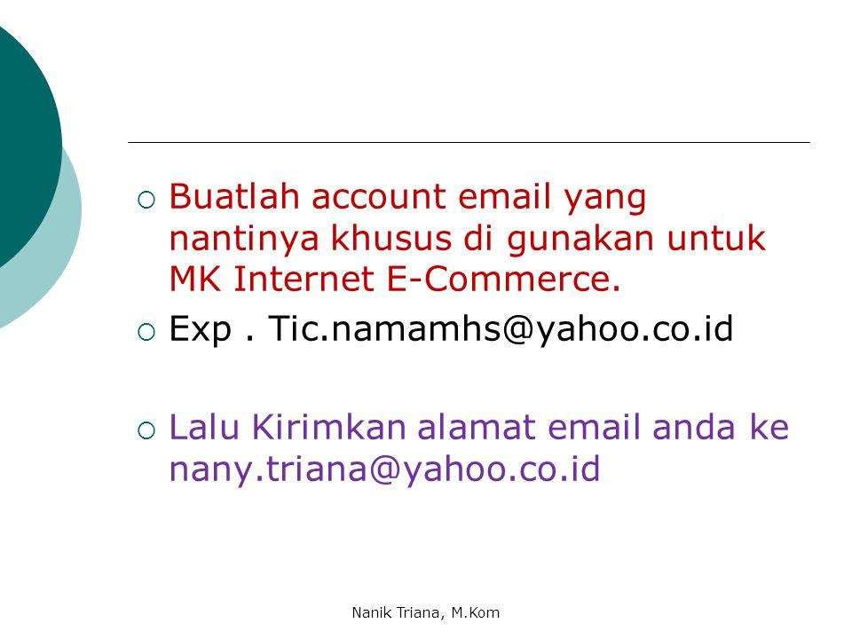 Exp . Tic.namamhs@yahoo.co.id