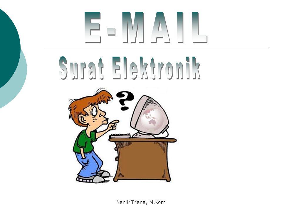 E-MAIL Surat Elektronik Nanik Triana, M.Kom