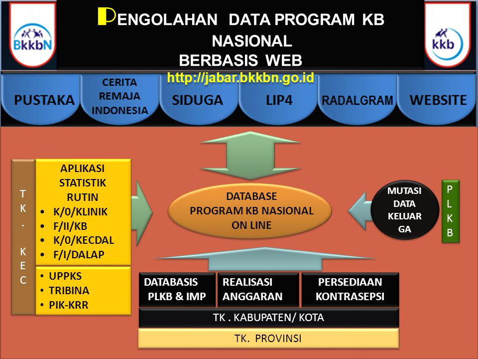 PENGOLAHAN DATA PROGRAM KB NASIONAL