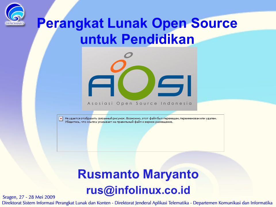 Perangkat Lunak Open Source untuk Pendidikan