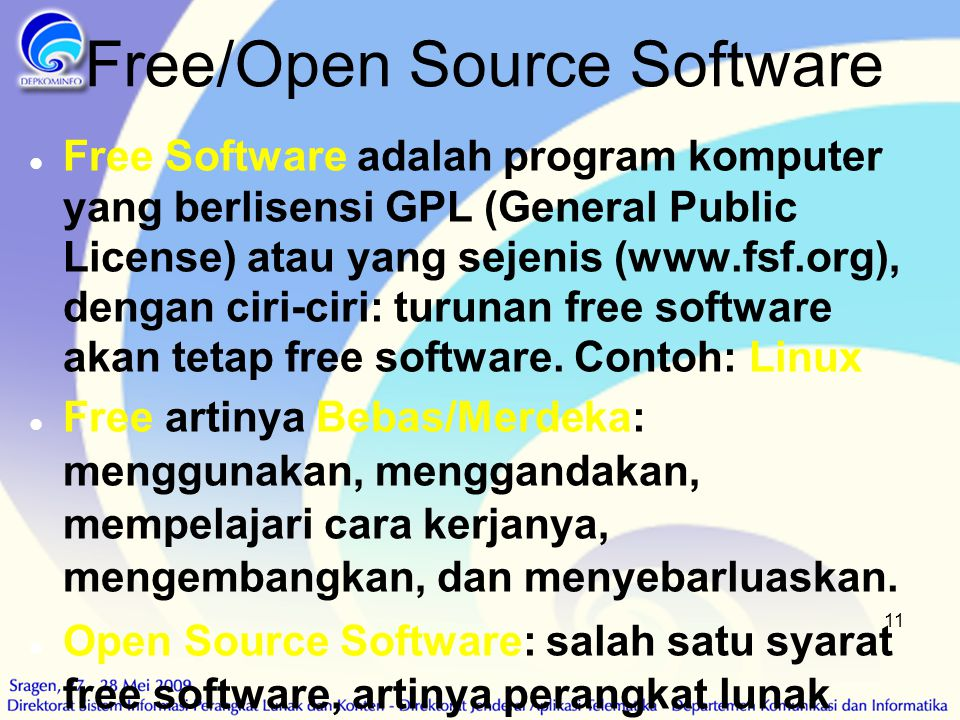 Free/Open Source Software