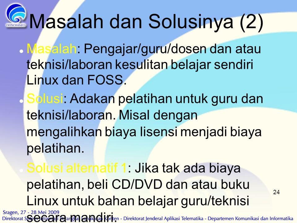 Masalah dan Solusinya (2)