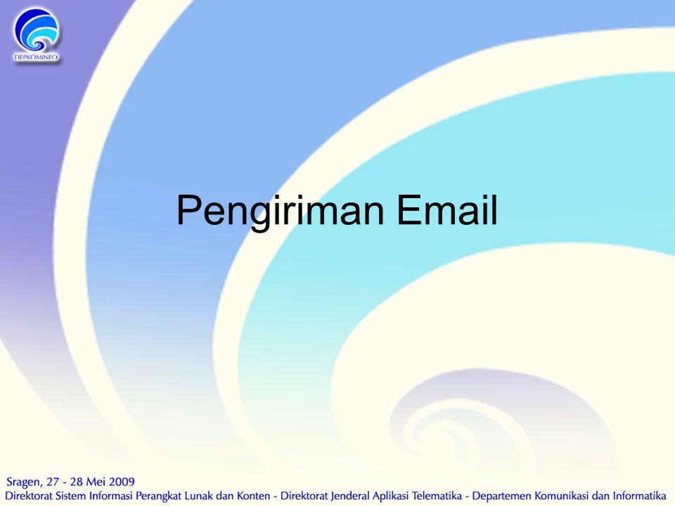 Pengiriman Email