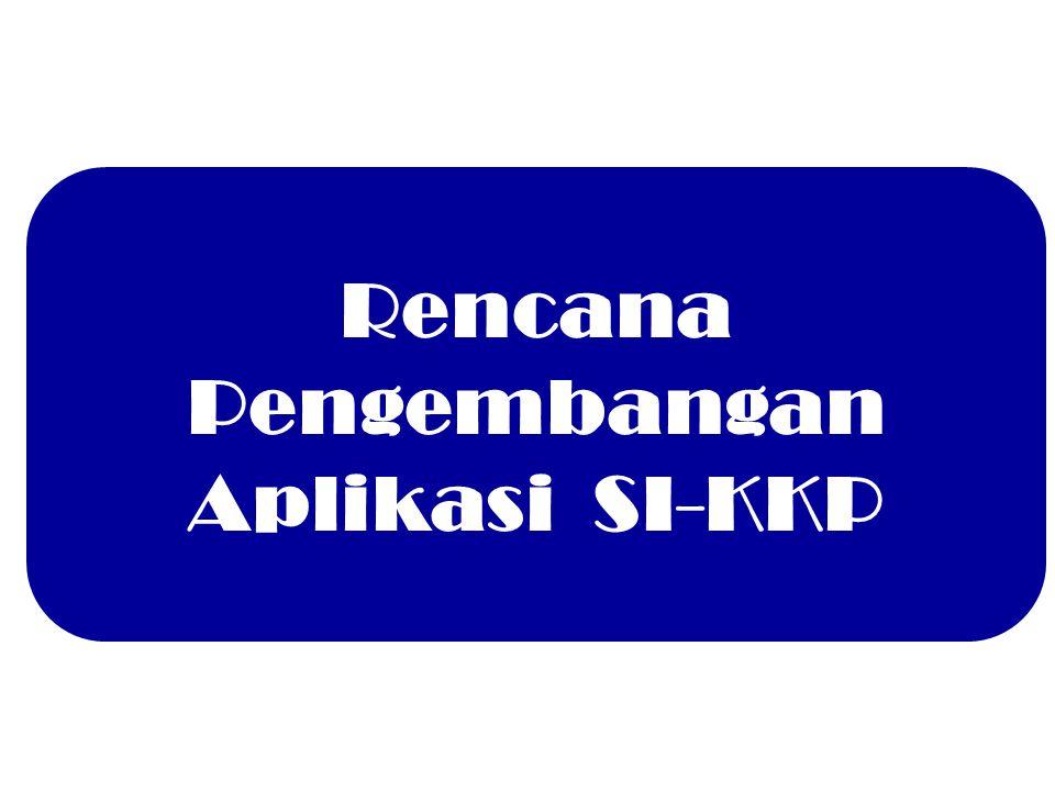 Rencana Pengembangan Aplikasi SI-KKP