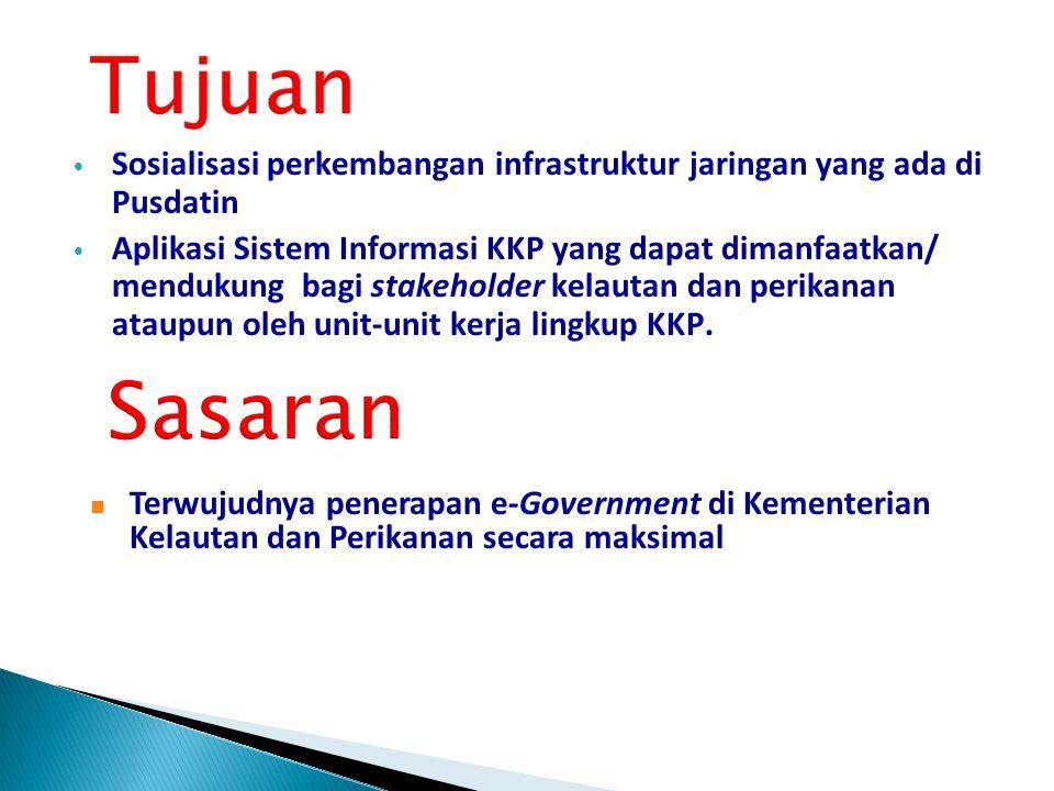 Sosialisasi perkembangan infrastruktur jaringan yang ada di Pusdatin