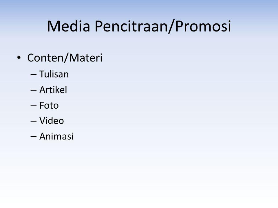 Media Pencitraan/Promosi