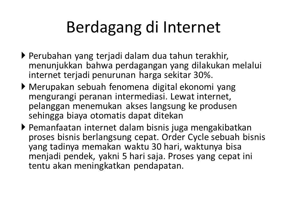 Berdagang di Internet