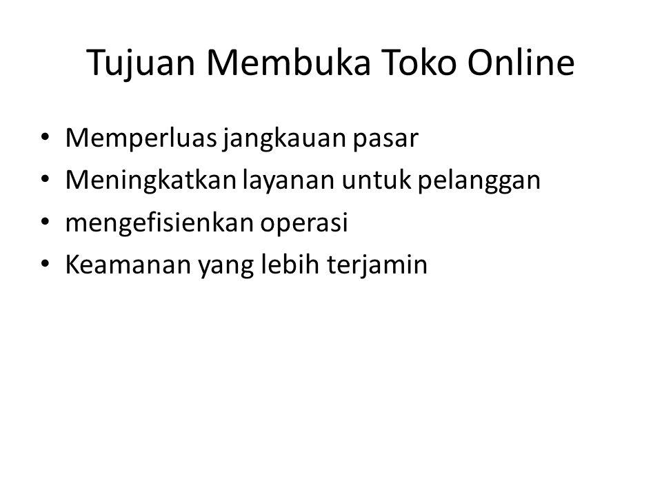 Tujuan Membuka Toko Online
