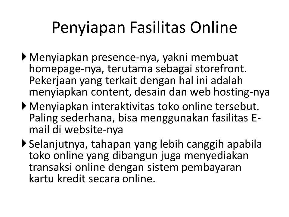 Penyiapan Fasilitas Online
