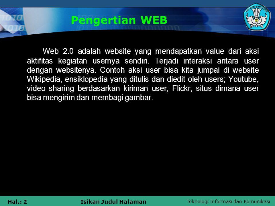 Pengertian WEB
