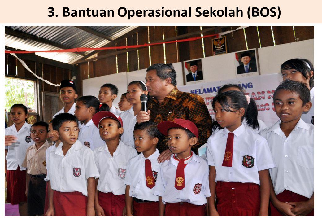 3. Bantuan Operasional Sekolah (BOS)