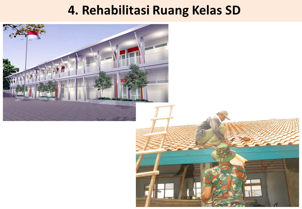 4. Rehabilitasi Ruang Kelas SD
