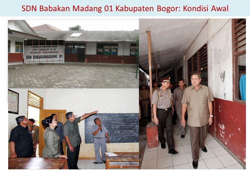 SDN Babakan Madang 01 Kabupaten Bogor: Kondisi Awal
