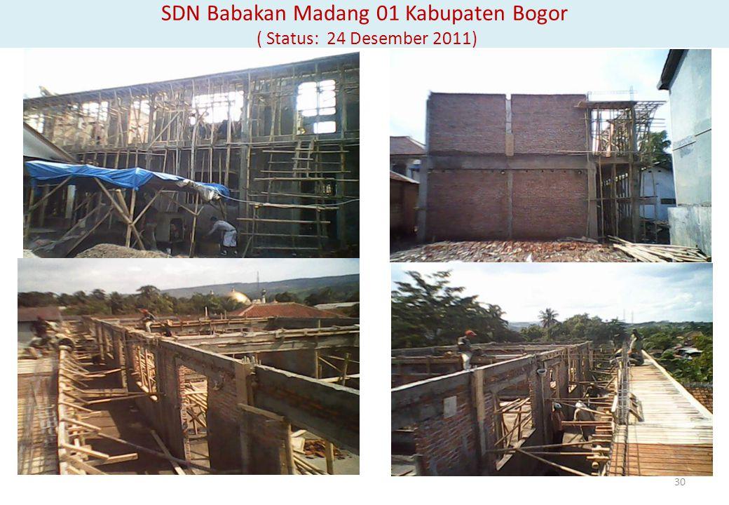 SDN Babakan Madang 01 Kabupaten Bogor ( Status: 24 Desember 2011)