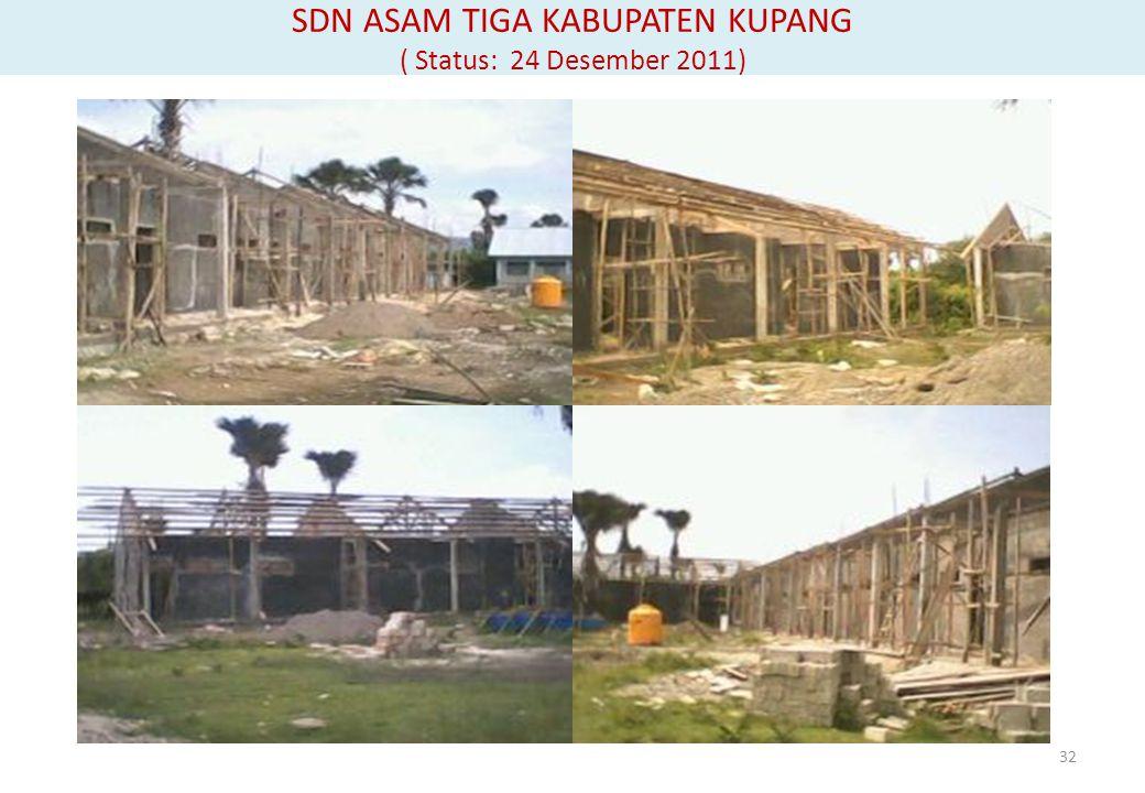 SDN ASAM TIGA KABUPATEN KUPANG ( Status: 24 Desember 2011)