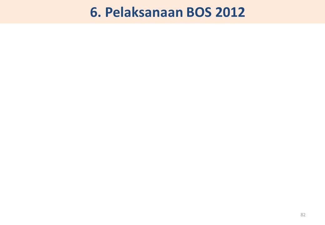 6. Pelaksanaan BOS 2012