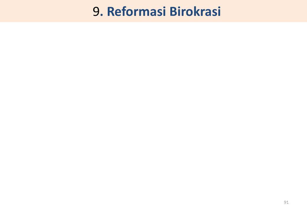 9. Reformasi Birokrasi