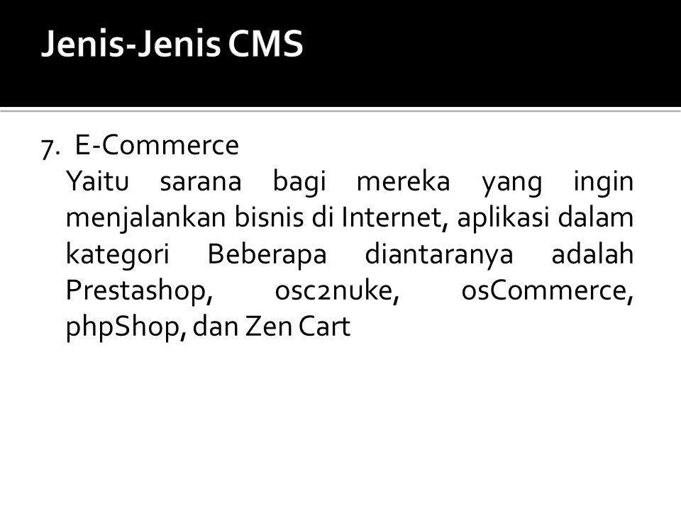 Jenis-Jenis CMS