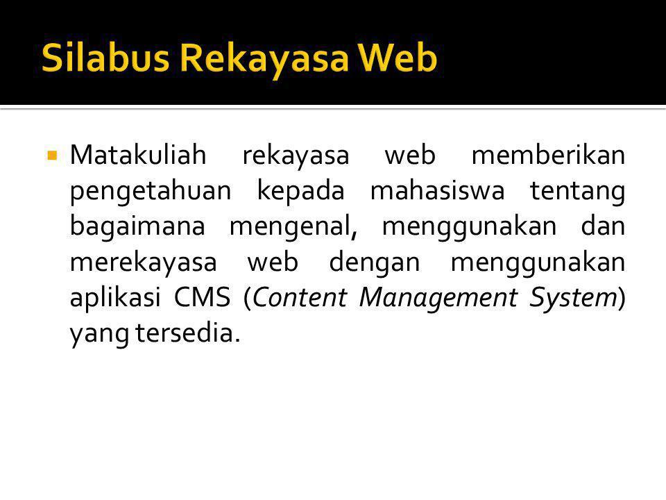 Silabus Rekayasa Web
