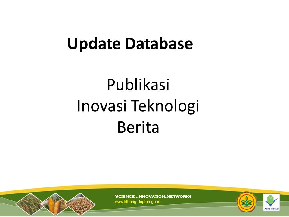 Publikasi Inovasi Teknologi Berita