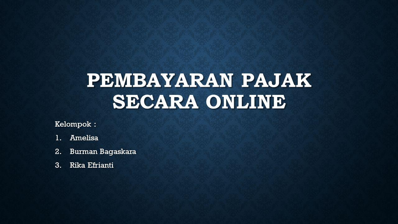 Pembayaran Pajak Secara Online