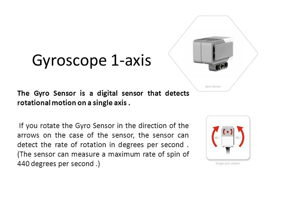 Gyroscope 1-axis
