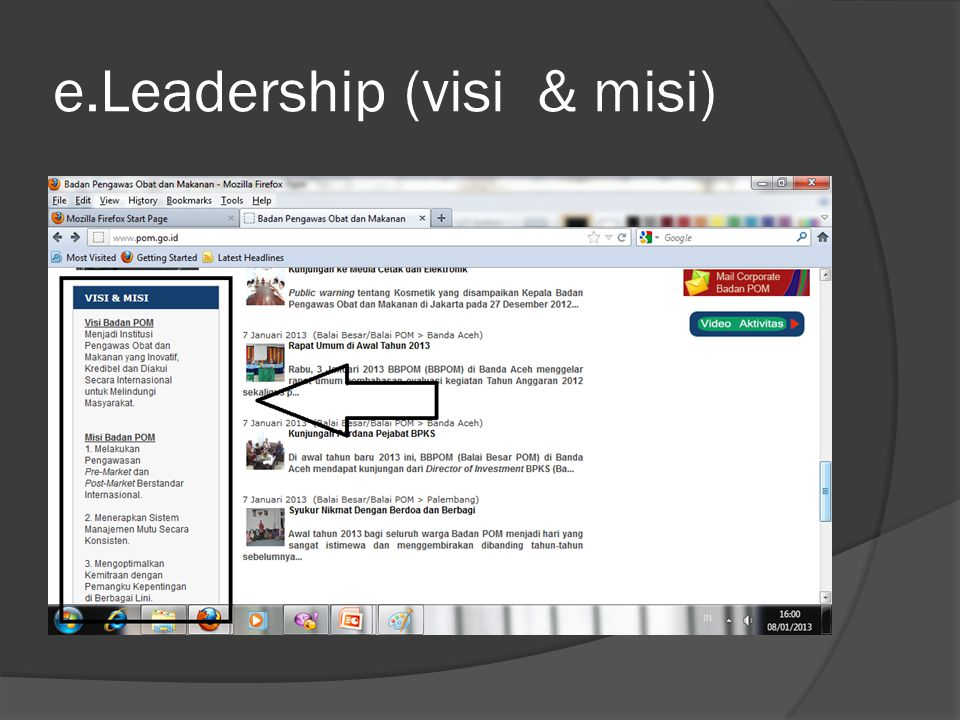 e.Leadership (visi & misi)
