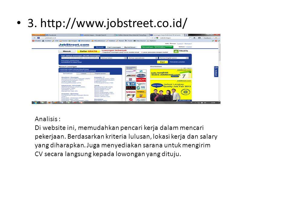 3. http://www.jobstreet.co.id/