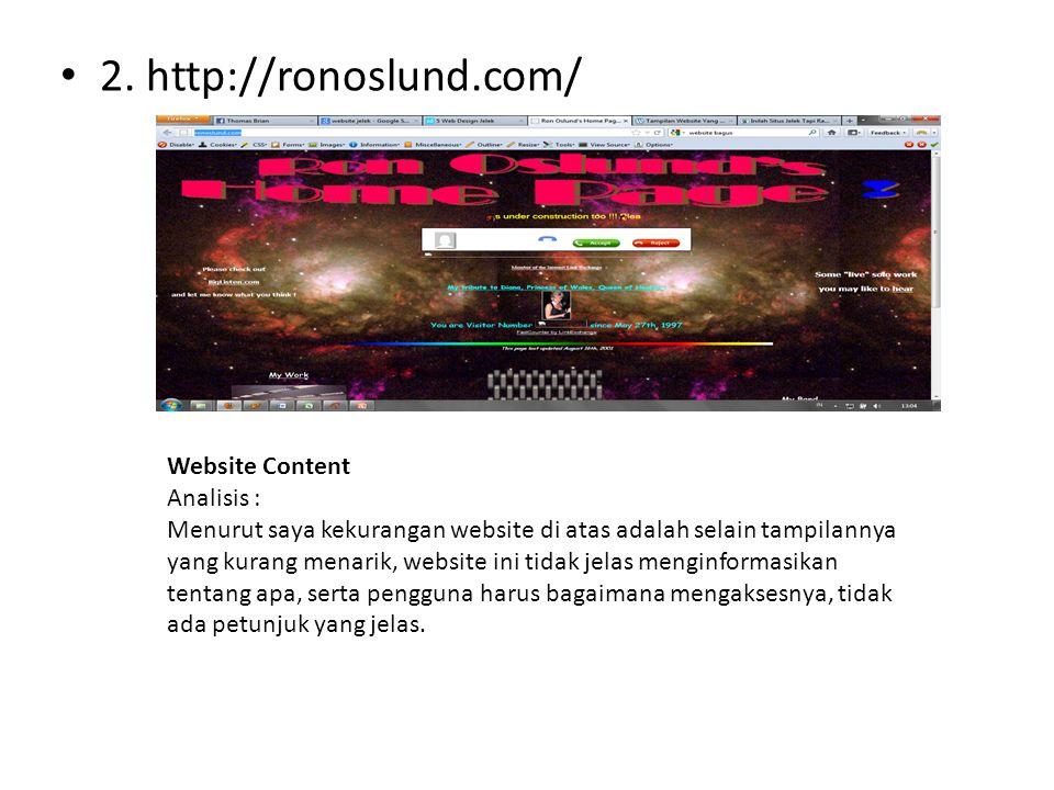 2. http://ronoslund.com/