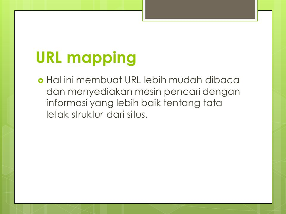 URL mapping