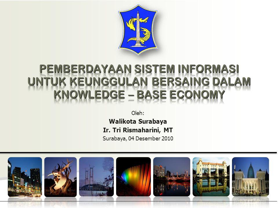PEMBERDAYAAN SISTEM INFORMASI UNTUK KEUNGGULAN BERSAING DALAM KNOWLEDGE – BASE ECONOMY