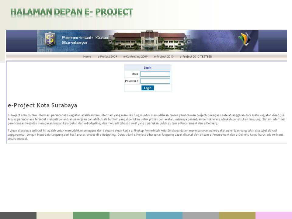 HALAMAN DEPAN E- PROJECT