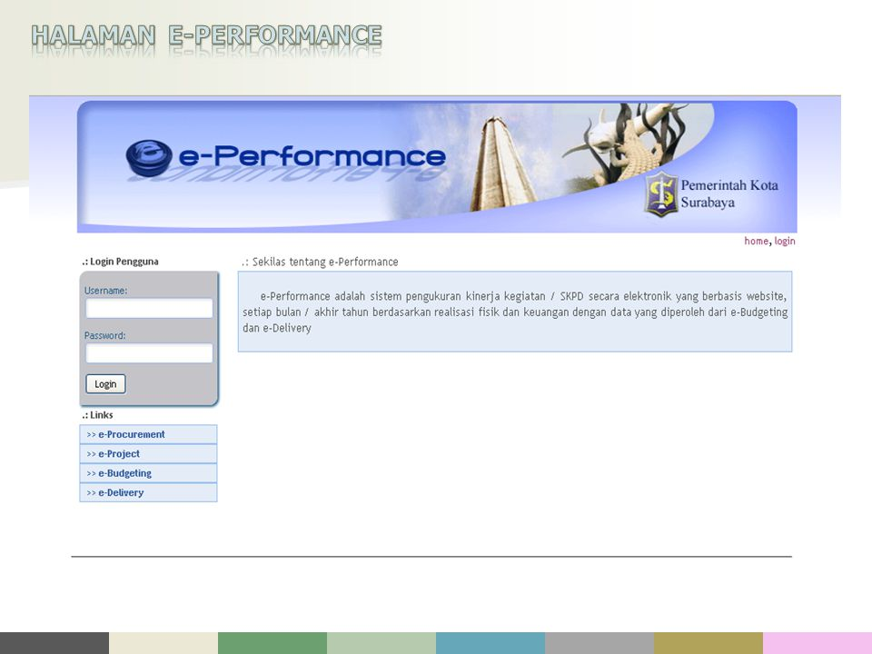 HALAMAN E-PERFORMANCE