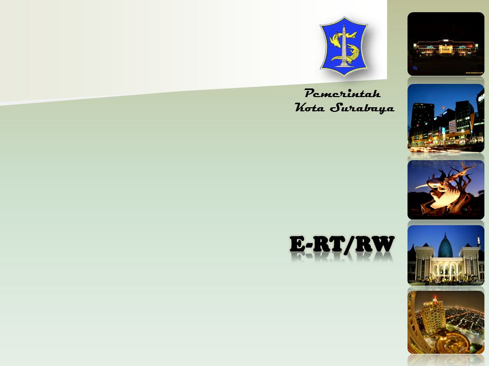 Pemerintah Kota Surabaya E-RT/RW