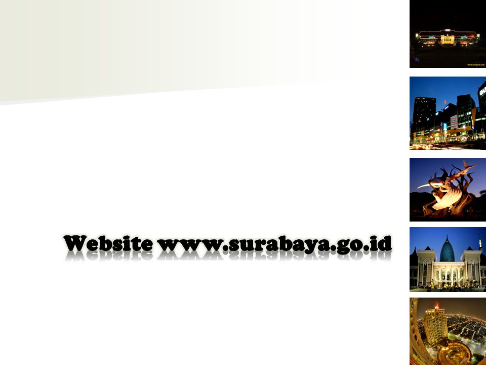 Website www.surabaya.go.id