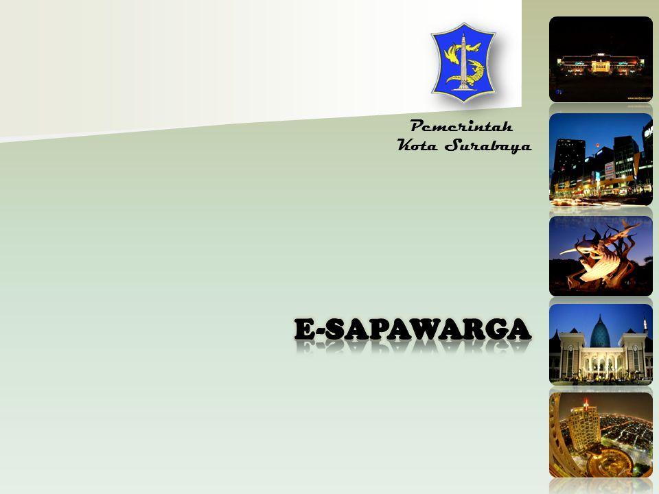 Pemerintah Kota Surabaya E-SAPAWARGA