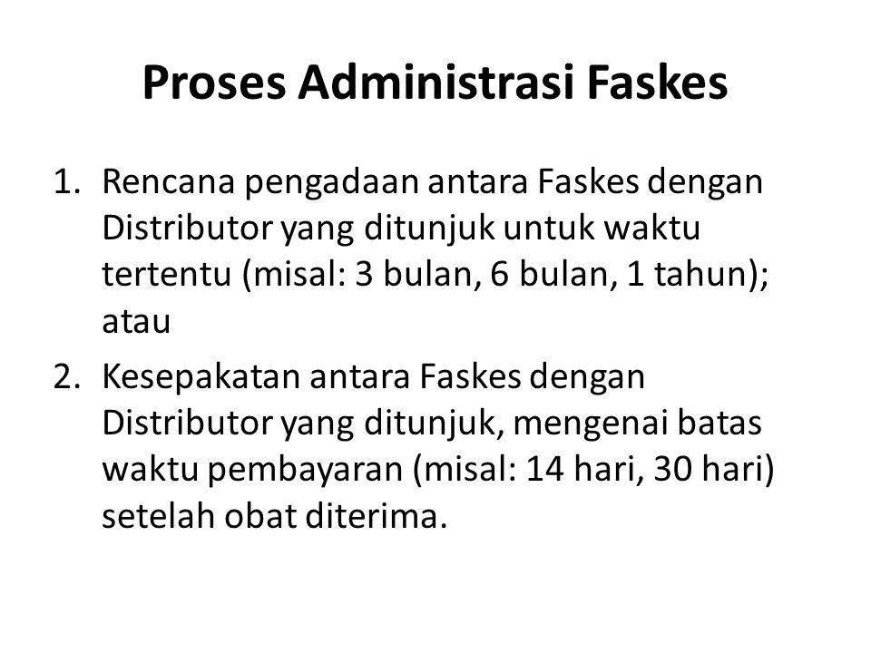 Proses Administrasi Faskes