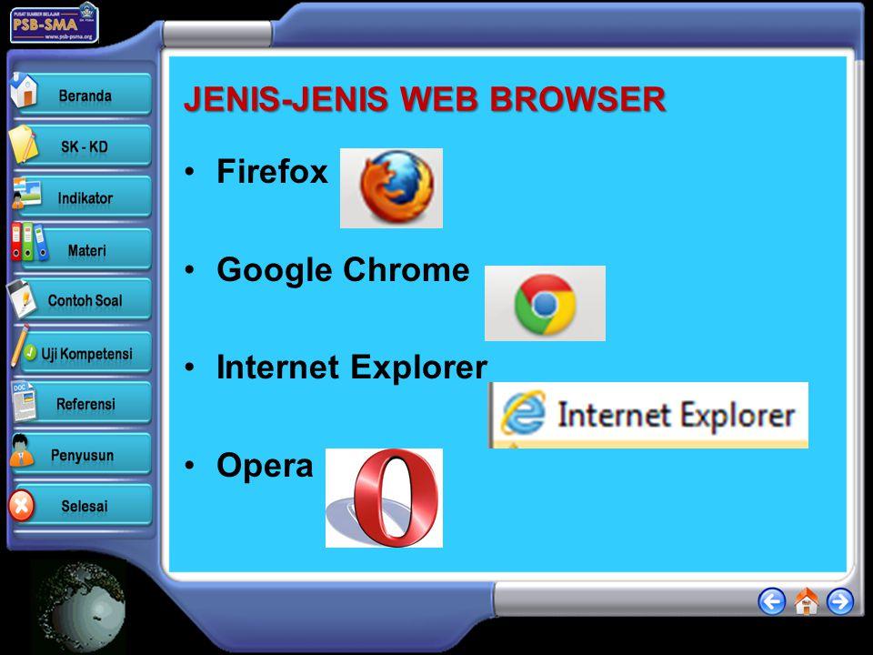 JENIS-JENIS WEB BROWSER