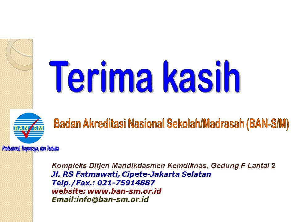 Badan Akreditasi Nasional Sekolah/Madrasah (BAN-S/M)