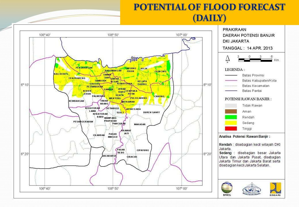 POTENTIAL OF FLOOD FORECAST