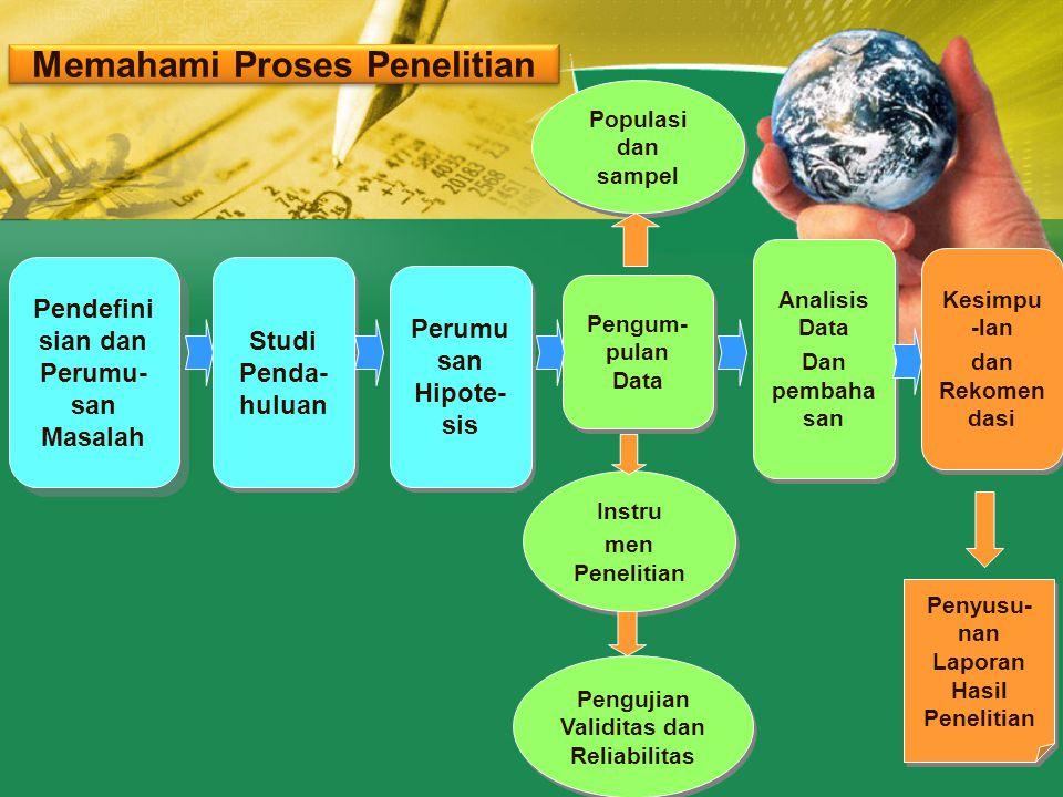 Memahami Proses Penelitian
