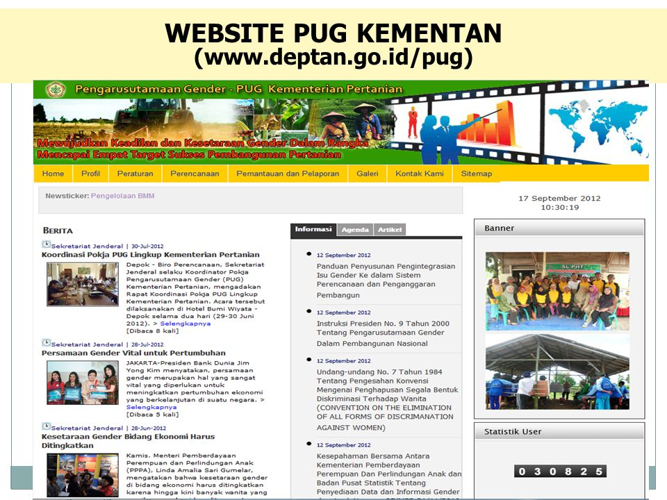 WEBSITE PUG KEMENTAN (