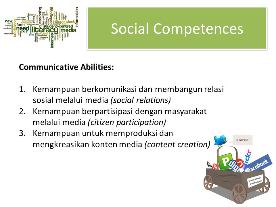 Social Competences Communicative Abilities: