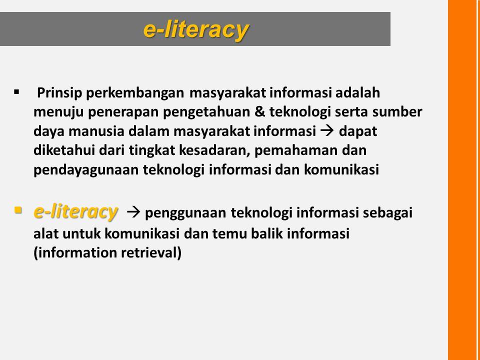e-literacy