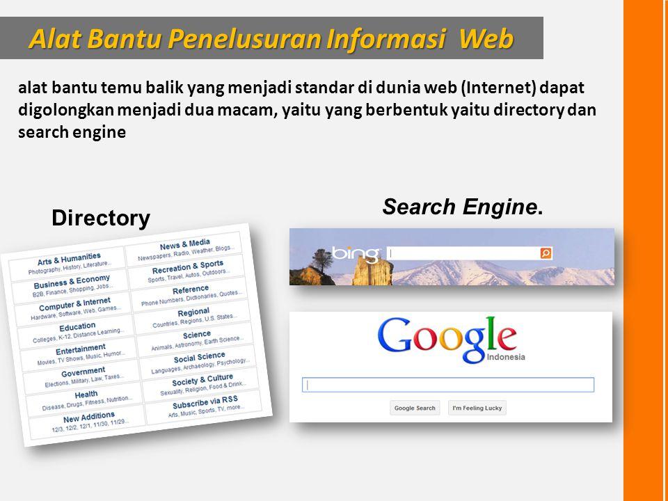 Alat Bantu Penelusuran Informasi Web