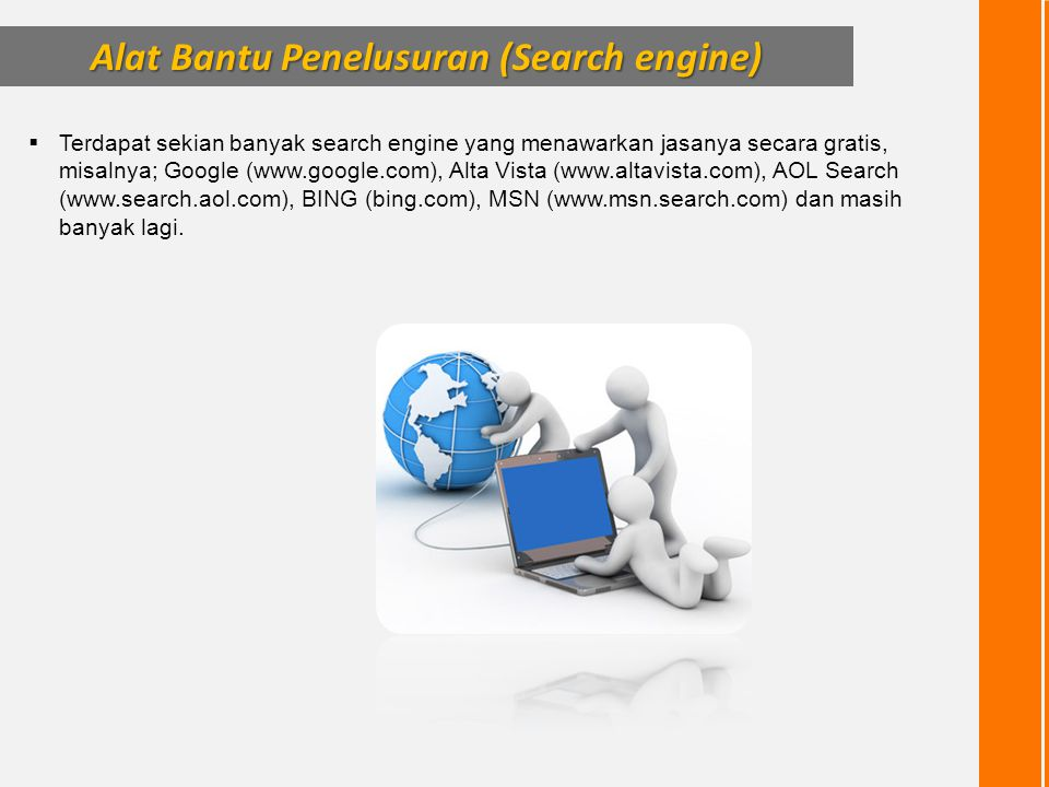 Alat Bantu Penelusuran (Search engine)